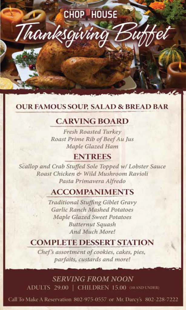 Chophouse-Thanksgiving-Buffet-Poster